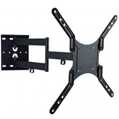 """Techly Supporto a Muro Ultra Slim per TV LED LCD 23-55"""" Nero (ICA-PLB 136M)"""