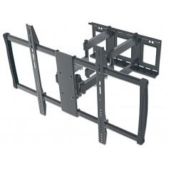 Staffa universale Full-Motion per fissaggio a parete di grandi schermi 60-100''