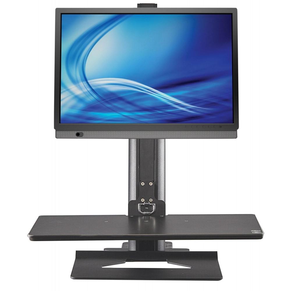 Postazione Ergonomica Per Computer postazione di lavoro ergonomica per monitor e tastiera