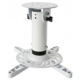 Techly Staffa Universale a Soffitto per Proiettori Bianco (ICA-PM 200WH)