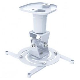 Techly Staffa Universale a Soffitto per Proiettore, Bianco (ICA-PM 100WH)