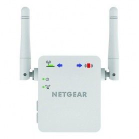 Netgear WN3000RP Network transmitter & receiver Bianco