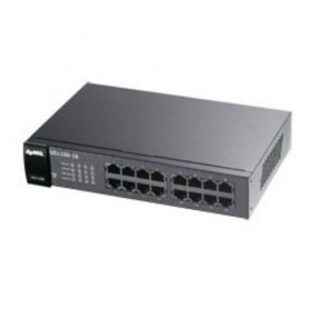 ZyXEL GS1100-16 No gestito Gigabit Ethernet (10/100/1000) Nero