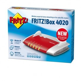 AVM FRITZ!Box 4020 Fast Ethernet 3G 4G Rosso router wireless
