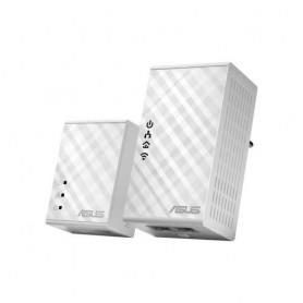 ASUS PL-N12 Kit 500Mbit/s Collegamento ethernet LAN Wi-Fi Bianco 2pezzo(i) adattatore di rete powerline