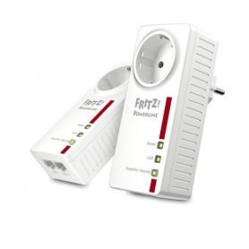 AVM FRITZ!Powerline 1220E 1200Mbit/s Collegamento ethernet LAN Bianco 2pezzo(i) adattatore di rete powerline