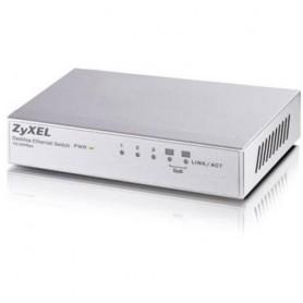 ZyXEL ES-105A No gestito Fast Ethernet (10/100) Argento