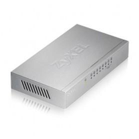 ZyXEL ES-108A V3 No gestito Fast Ethernet (10/100) Metallico