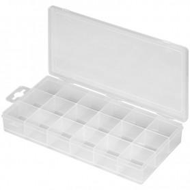 Contenitore plastico per viti e minuterie con separatori