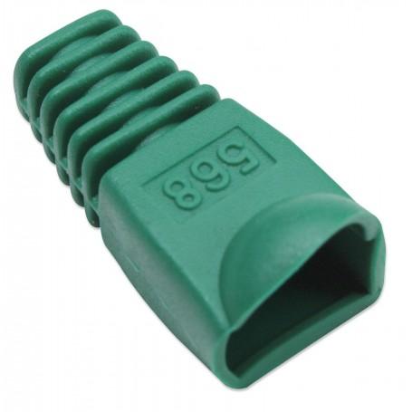 Copriconnettore per Plug RJ45 6.2mm Verde