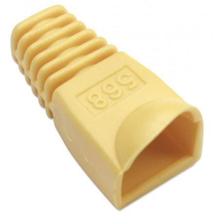 Copriconnettore per Plug RJ45 6.2mm Giallo