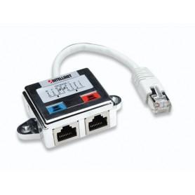 Sdoppiatore di Cavo di rete UTP/FTP Cat. 5 Cable economizer