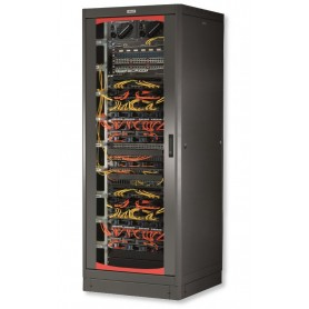 Armadio Server Rack 19'' 600x1000 33 Unita' Nero serie Lite