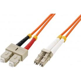 Techly Cavo fibra ottica SC/LC 50/125 Multimodale 1 m OM2 (ILWL D5-SCLC-010)