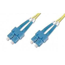 Techly Cavo fibra ottica SC/SC 9/125 Monomodale 1 m OS2 (ILWL D9-B-010)