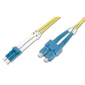 Techly Cavo fibra ottica SC/LC 9/125 Monomodale 1 m OS2 (ILWL D9-SCLC-010)
