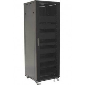 "Techly Armadio Rack 19"" 600x600 36U per Audio Video Nero I-CASE AV-2136BKTY"