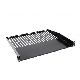 Techly Mensola 1 U per armadio rack Audio Video