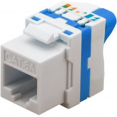 Techly Frutto Keystone RJ45 Cat.6A UTP Tooless IWP-MD C6A/UROTT