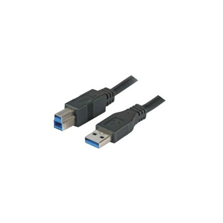 6c996b1179b2d9 DIGITUS CAVO USB 3.0, A/B, M/M, NERO, 1.80MT - COMPUTER DEVICE