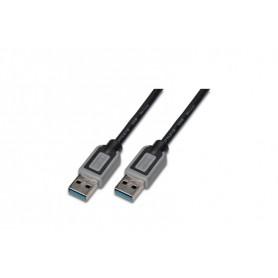 DIGITUS CAVO USB 3.0, A/A, M/M, NERO, 3MT