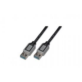 DIGITUS CAVO USB 3.0, A/A, M/M, NERO, 1MT