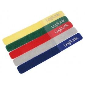 Fascette Fermacavo Colorate in Velcro Set da 5 pz