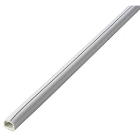 Canalina Autoadesiva Flessibile 5m Bianco
