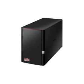Buffalo LinkStation 520 NAS Compatta Collegamento ethernet LAN Nero
