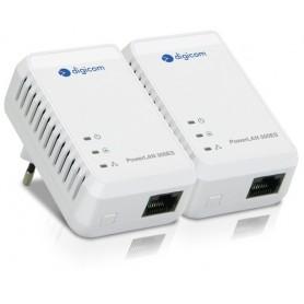 Digicom PL502E-A02 500Mbit/s Collegamento ethernet LAN Bianco 2pezzo(i) adattatore di rete powerline