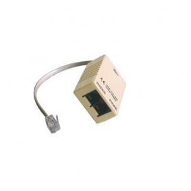 Digicom 8E4141 RJ-11 M 2 x RJ11 FM Grigio cavo di interfaccia e adattatore