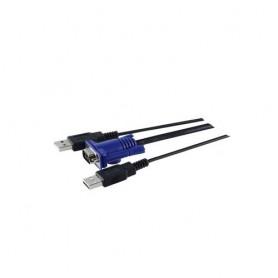 Fujitsu 2xUSB, VGA Y-shape cavo per tastiera, video e mouse