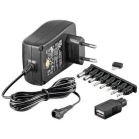 Techly Alimentatore Regolabile 1500 mAh AC/DC Stabilizzato 18W (IPW-NTS1500G)