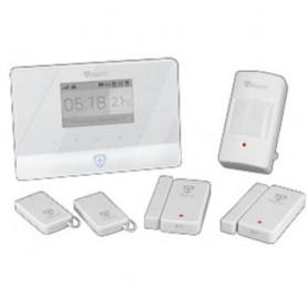 ALLARME ATLANTIS A13-A750G-BK 1 central d allarme GSM 2 sensori di apert porte/finestre 1 sensore PIR 2 tel