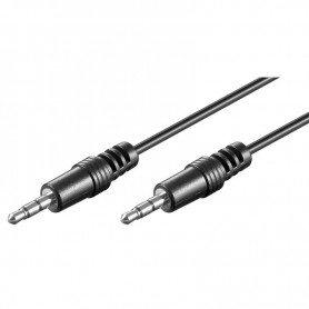 Cavo Audio Stereo Jack 3.5 mm M/M 0,6m