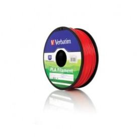 Verbatim 55270 Acido polilattico (PLA) Rosso 1000g materiale di stampa 3D