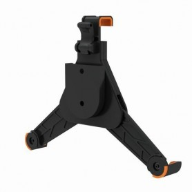 Techly Supporto da muro per iPad2/3/4 e Tablet in plastica (I-PAD-WALL-BK2)