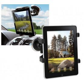 """Techly Supporto Universale da Auto con Ventosa per Tablet 7-10.1"""" (I-TABLET-VENT)"""