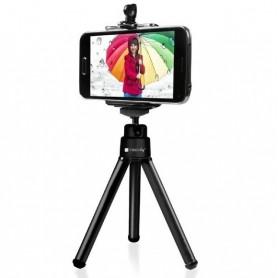 Techly Treppiede Portatile Universale per Smartphone e Fotocamere (I-TRIPOD-UN)