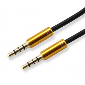 Cavo Audio Stereo Jack 3.5 mm M/M 1,5m Giallo