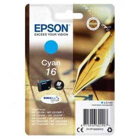 INK EPSON C13T16224012 Ciano Penna/Cruciverba DURABriteUltra WF-2010 2510 2520 2530 2540 2630 2650D 2660 2760