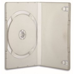 Custodia per DVD/CD BOX Trasparente