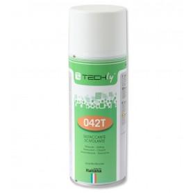 Techly Spray Silicone Lubrificante Distaccante Scivolante 400ml (ICA-CA 042T)