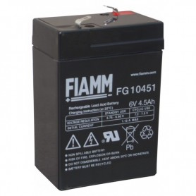 Batteria al Piombo 6V 4,5Ah (Faston 4,8mm)