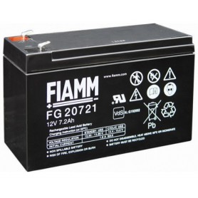 Batteria al Piombo 12V 7,2Ah (Faston 4,8mm)