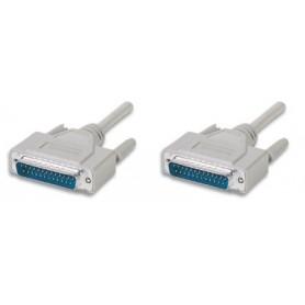 Cavo Seriali/Paralleli M/M D-Sub 25p. Cavo prol. 25p. M/M 1,8 m