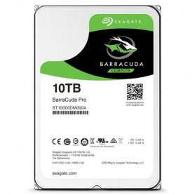 "HD SEAGATE BARRACUDA PRO SATA3 10TB GB 3.5"" 7200 RPM 256mb cache - ST10000DM0004 - Gar. 5 anni"