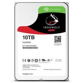 """HD SEAGATE IRON WOLF SATA3 10TB 3.5"""" 5900 RPM 64mb cache 24x7 - NAS HDD - ST10000VN0004 - Gar. 3 anni"""
