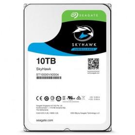 """HD SEAGATE SKYHAWK SATA3 10TB 3.5"""" 5900 RPM 64mb cache 24x7 - (Ideali per DVR/PVR) ST10000VX0004 - Gar. 3 anni"""