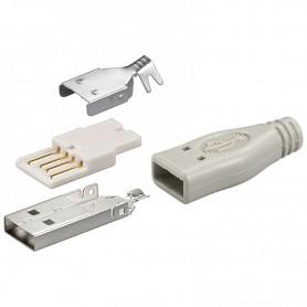 Connettore USB a saldare A Maschio